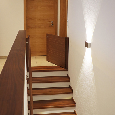 Treppe mit Sicherung